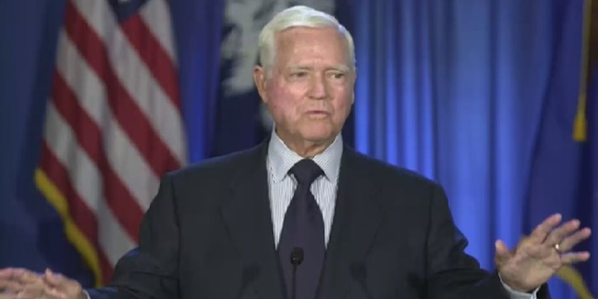 Public viewing for former Gov. Ernest 'Fritz' Hollings Monday at State House