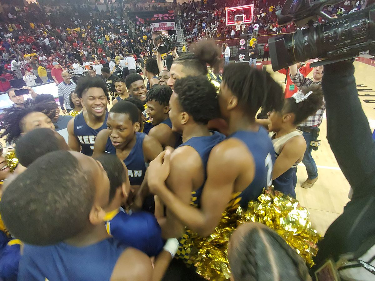 Keenan claims ninth state title in boys' basketball with victory over Wade Hampton