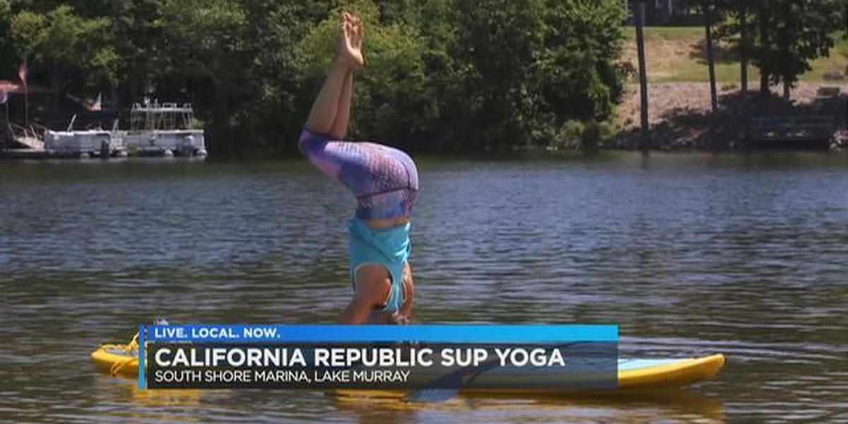 Paddle boat yoga? How to find Zen on Lake Murray