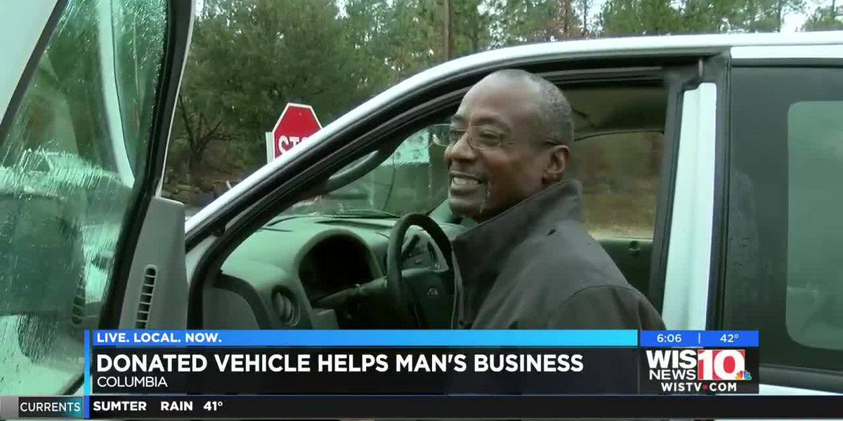 A Columbia man's lost his work truck to thieves, but the community has rallied behind him to help