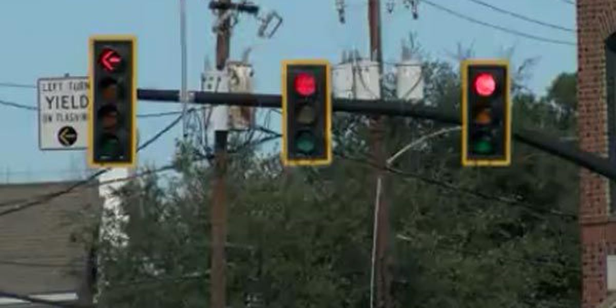 Town of Lexington begins new year with new 'in sync' traffic lights