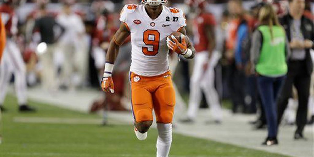 Gallman selected by the NY Giants in the NFL Draft