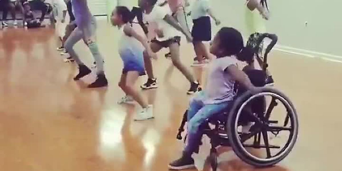 S.C. girl shows off her hip hop dance skills from her wheelchair