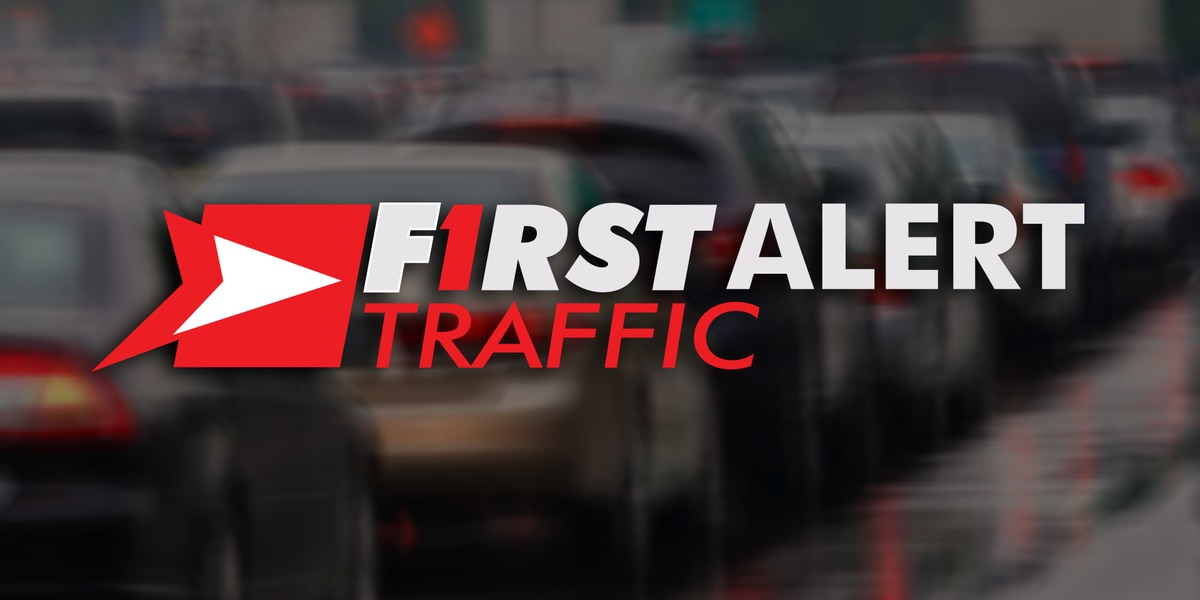 Right lane of I-26 closed due to car fire