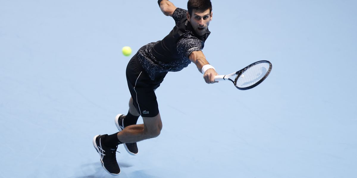 Djokovic overcomes illness to beat Zverev at ATP Finals