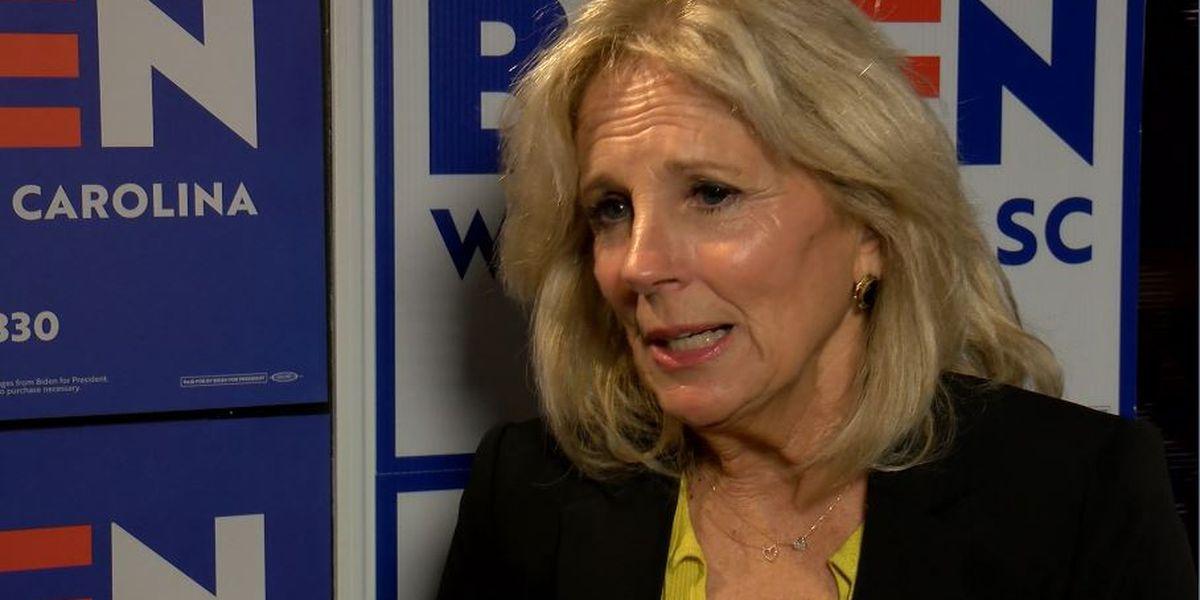 Jill Biden to visit two North Carolina cities Tuesday