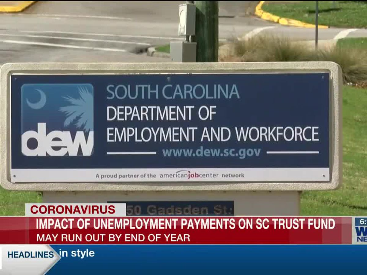 COVID-19 pandemic has nearly cut SC's unemployment trust fund in half, could run out by end of year