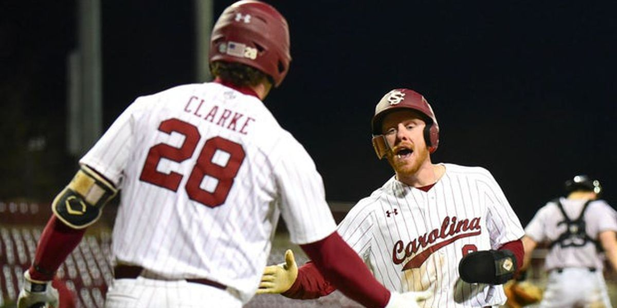 Gamecocks ride bullpen, bats past in-state Bulldogs