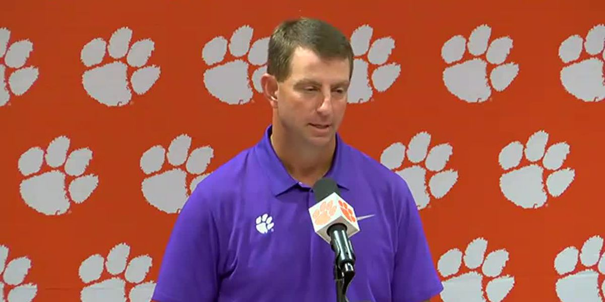Lawrence expected to return when Clemson faces Wake Forest