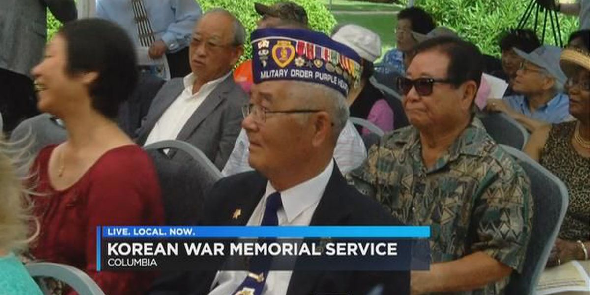 Residents honor SC soldiers at Korean War memorial service