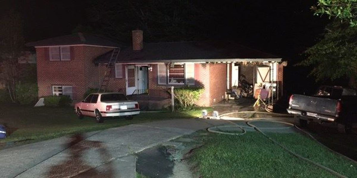 Fire forces family of 7 out of home
