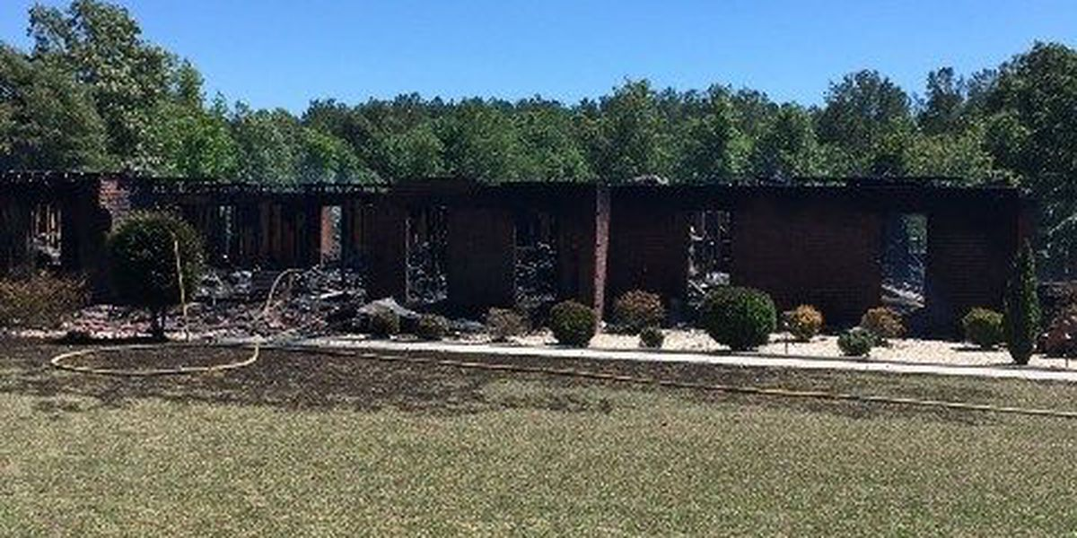 Multiple agencies assist Sumter Fire Dept. with fighting house fire