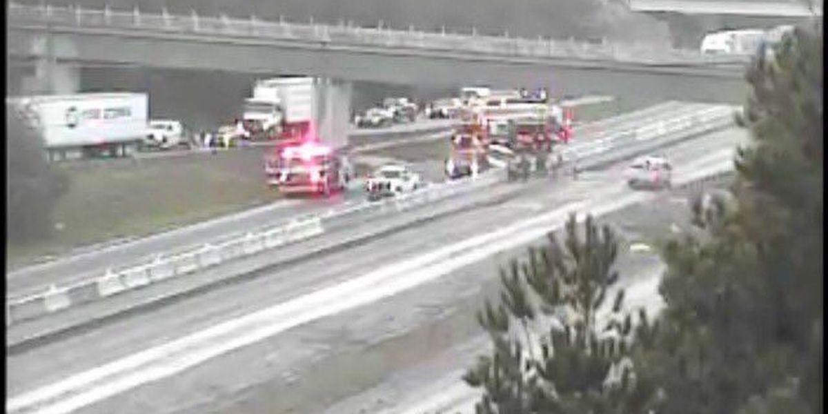Crash scene cleared on I-77 NB near Two Notch Road