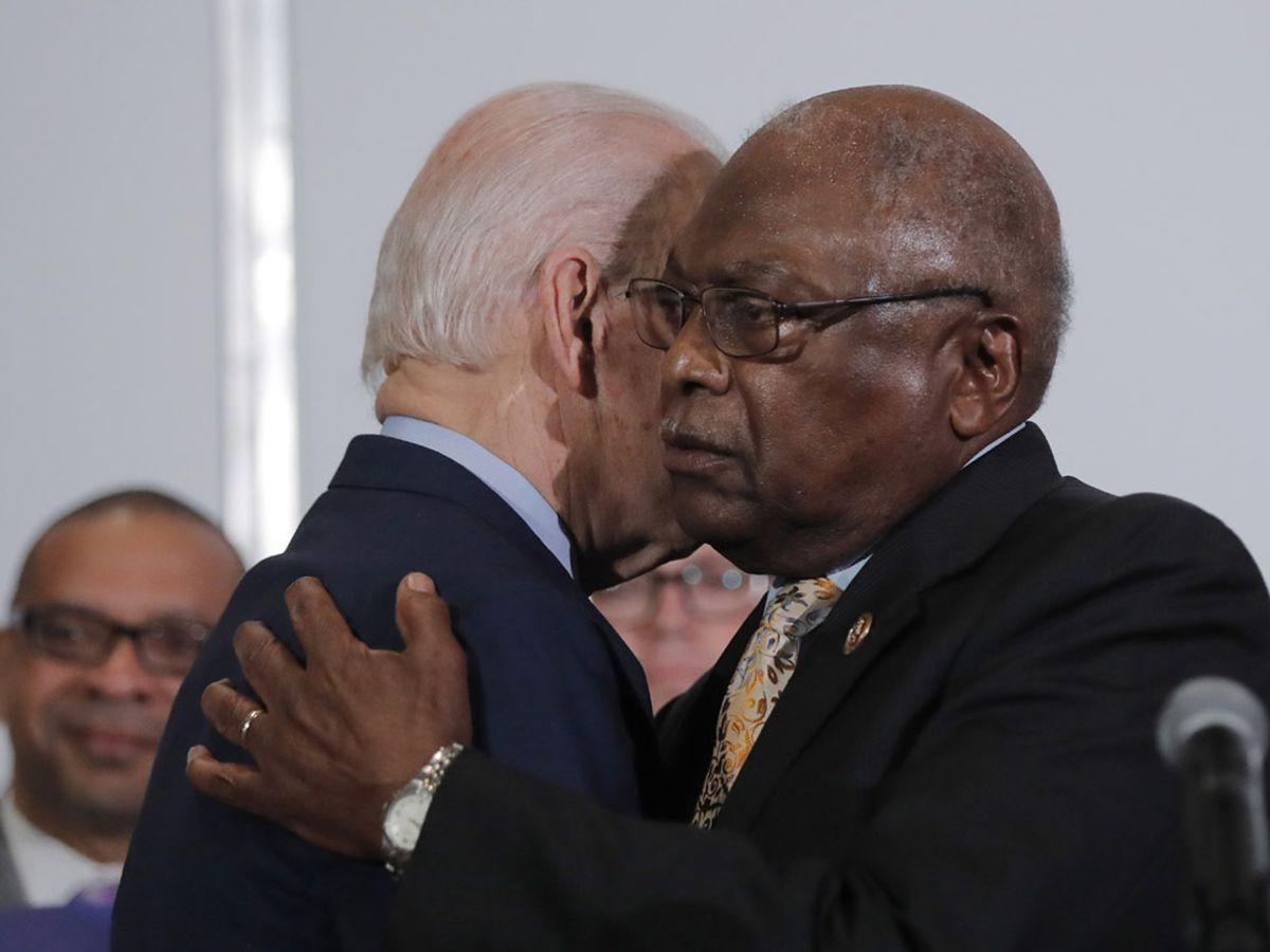Rep. Clyburn: Democratic voters in SC 'want to see' Biden-Harris ticket