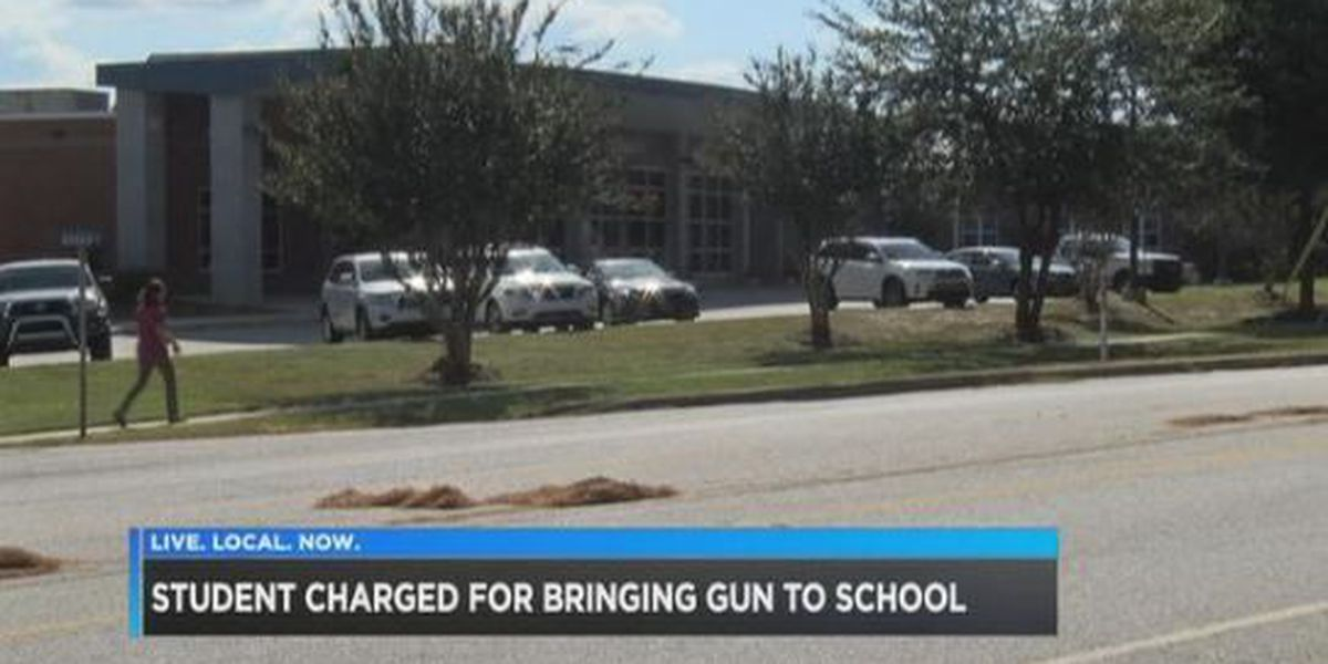 Airport High student arrested with gun, ammo and drug paraphernalia