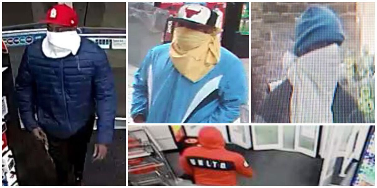 Deputies search for suspect connected with 8 robberies in 9 days