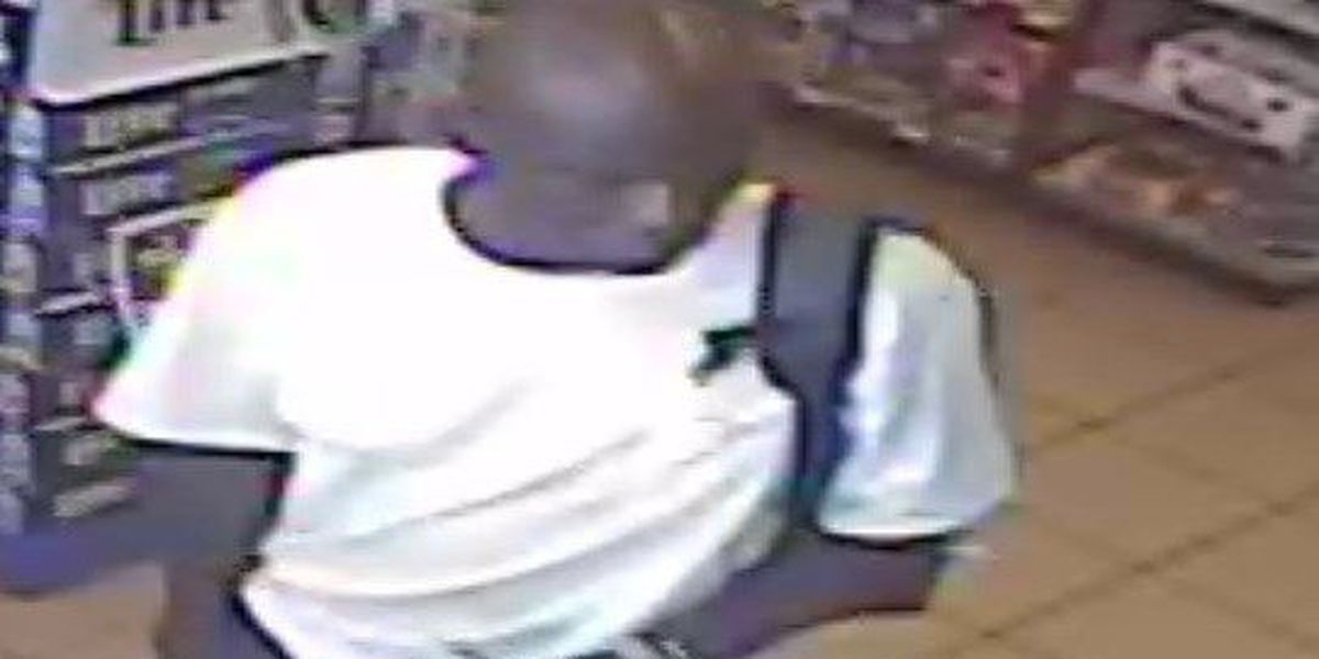 Police search for person of interest in theft from gas station