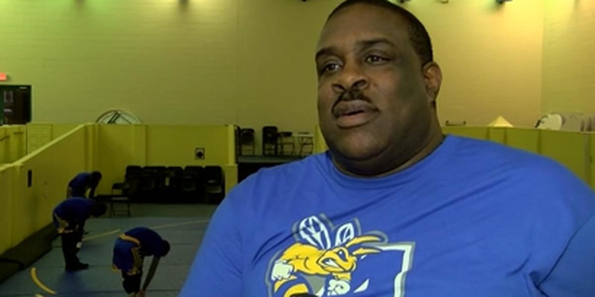 The stars align as 'Hollywood' is in full control of Allen University's wrestling program