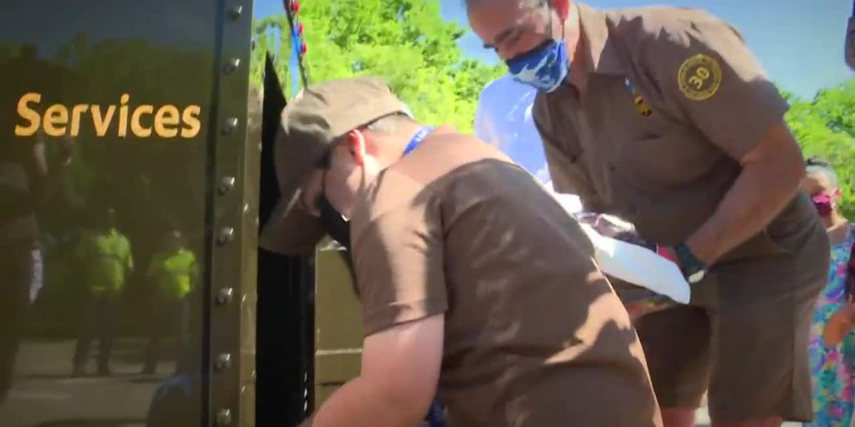 Young cancer survivor delivers packages for a day after UPS driver wish