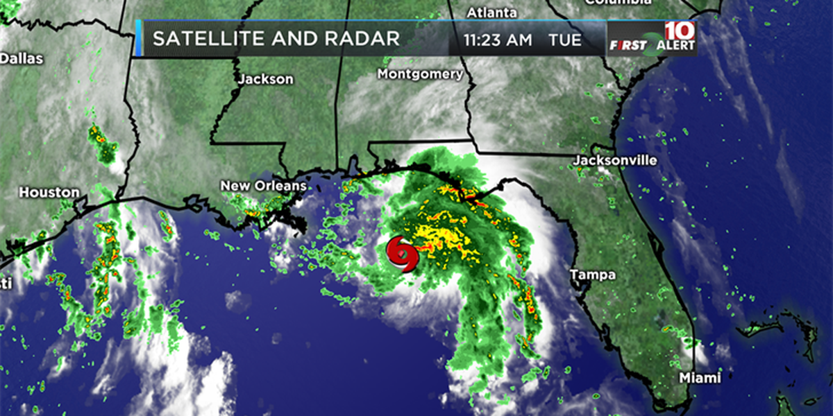 FIRST ALERT: Tropical Storm Gordon remains to our South, Florence now a hurricane