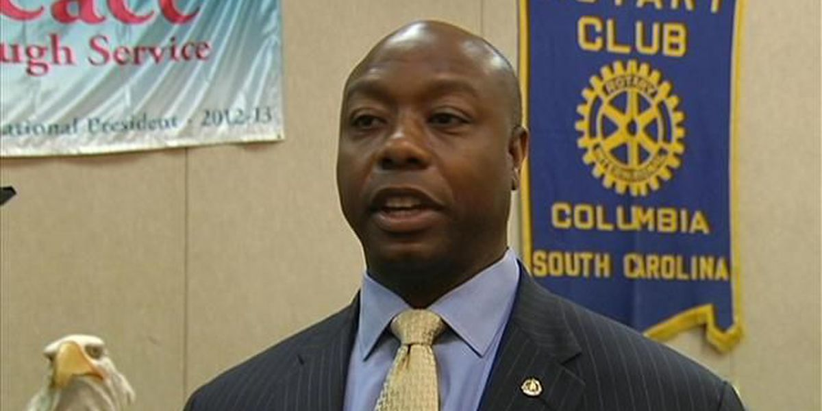 Sen. Tim Scott talks political civility, upcoming veterans event