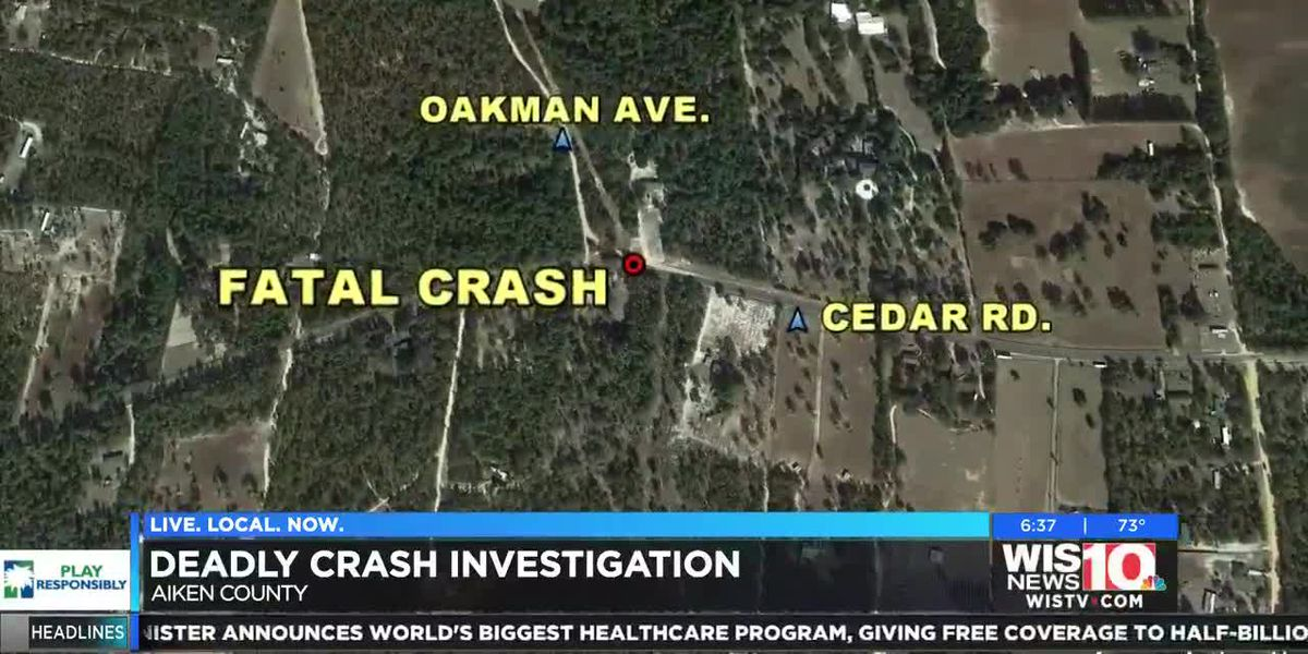 SCHP is investigating a deadly crash in Aiken