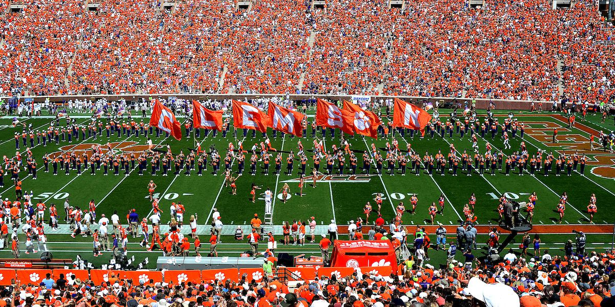 Clemson Releases Plan For Spectators At Football Games