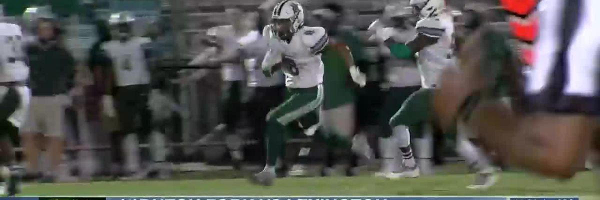 PLAY 3: Dutch Fork's Antonio Williams returns the punt 70 yards for the score