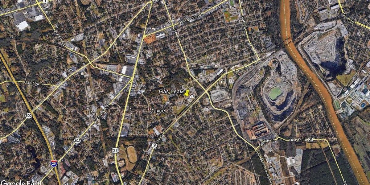 Gas line break disrupts traffic in parts of Cayce