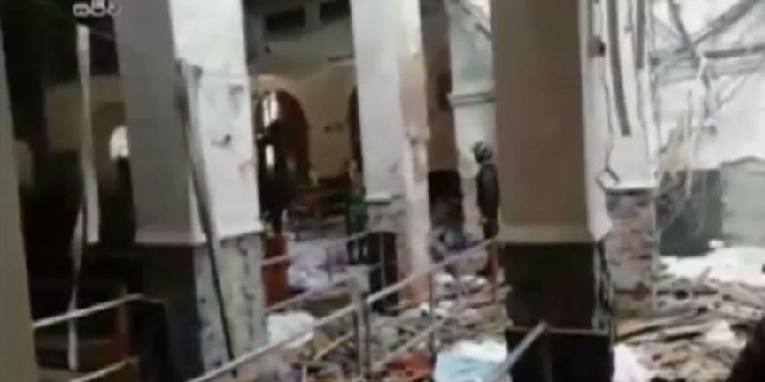 6 blasts target churches, hotels in Sri Lanka; more than 100 reported dead