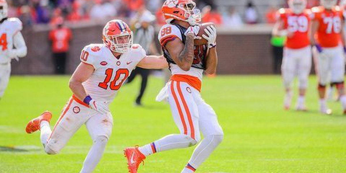 2 Clemson players lose NCAA drug test appeal, will not play 2019 season