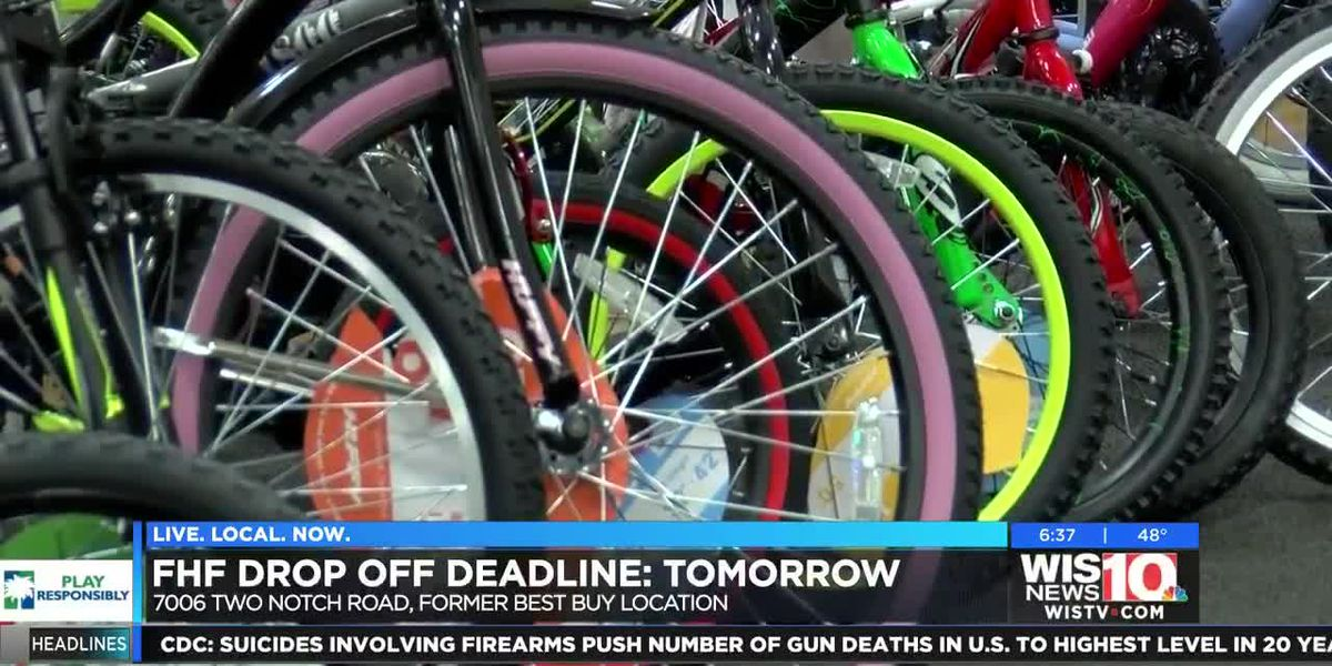 Families Helping Families drop off deadline is tomorrow