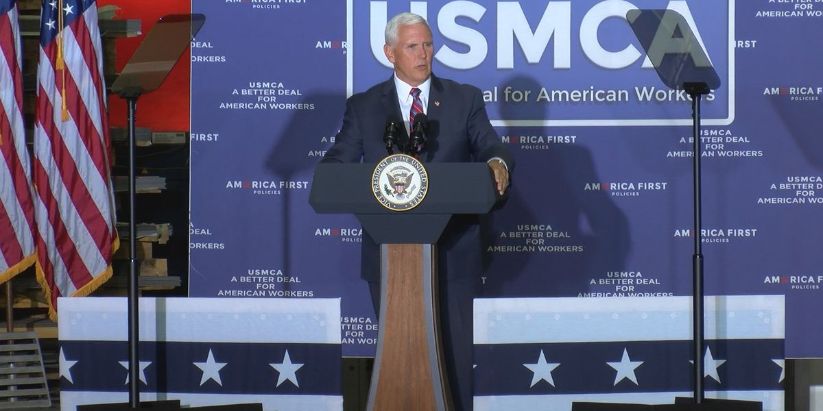 Vice President visits Upstate, touts new trade agreement with Canada and Mexico