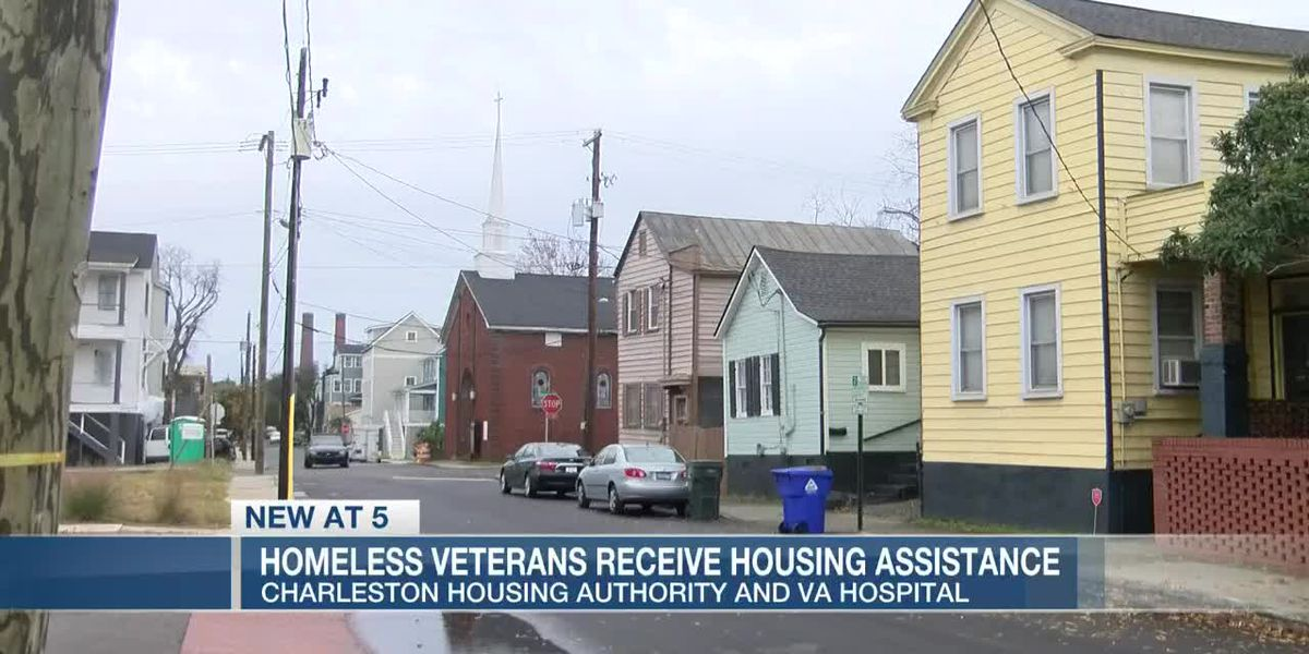 VIDEO: Two dozen homeless veteran families in Charleston to receive housing assistance