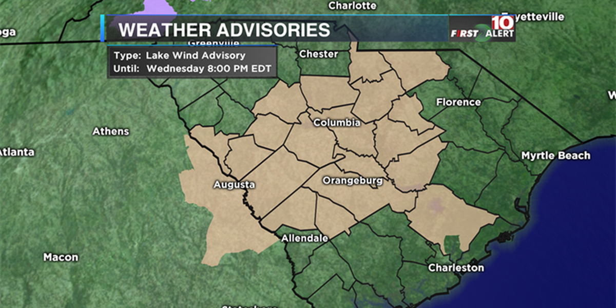 FIRST ALERT: Hold on to your hat, it will be windy