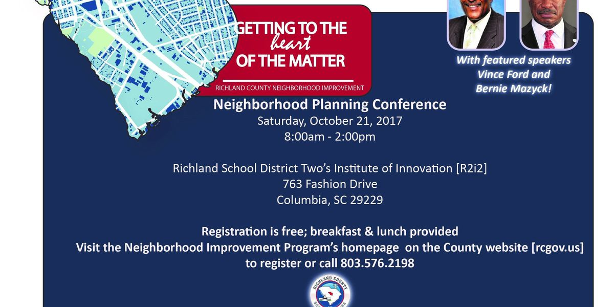 Getting to the heart of the matter - The 2017 Neighborhood Planning Conference