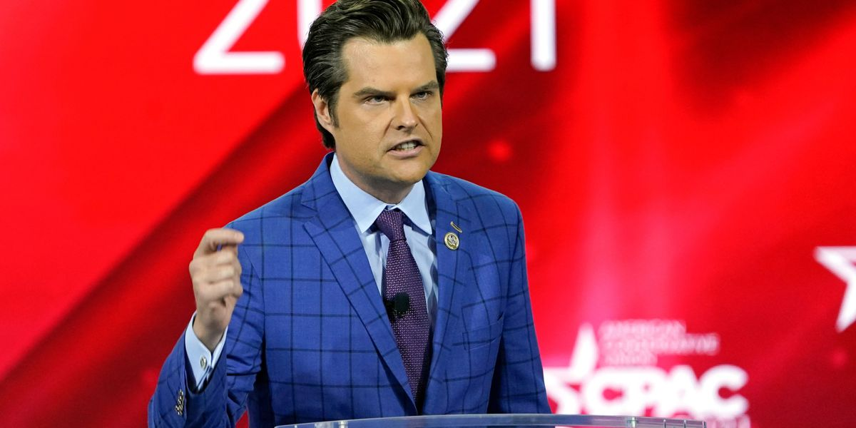 Gaetz associate could cooperate with federal invetigators