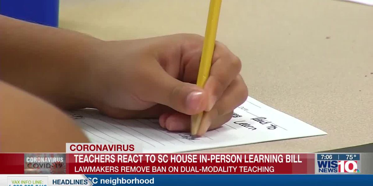 Teachers call for law that protects against having to teach virtual and in-person simultaneously