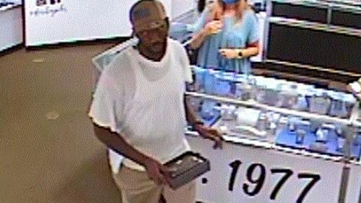 Lexington Police searching for grand larceny suspect