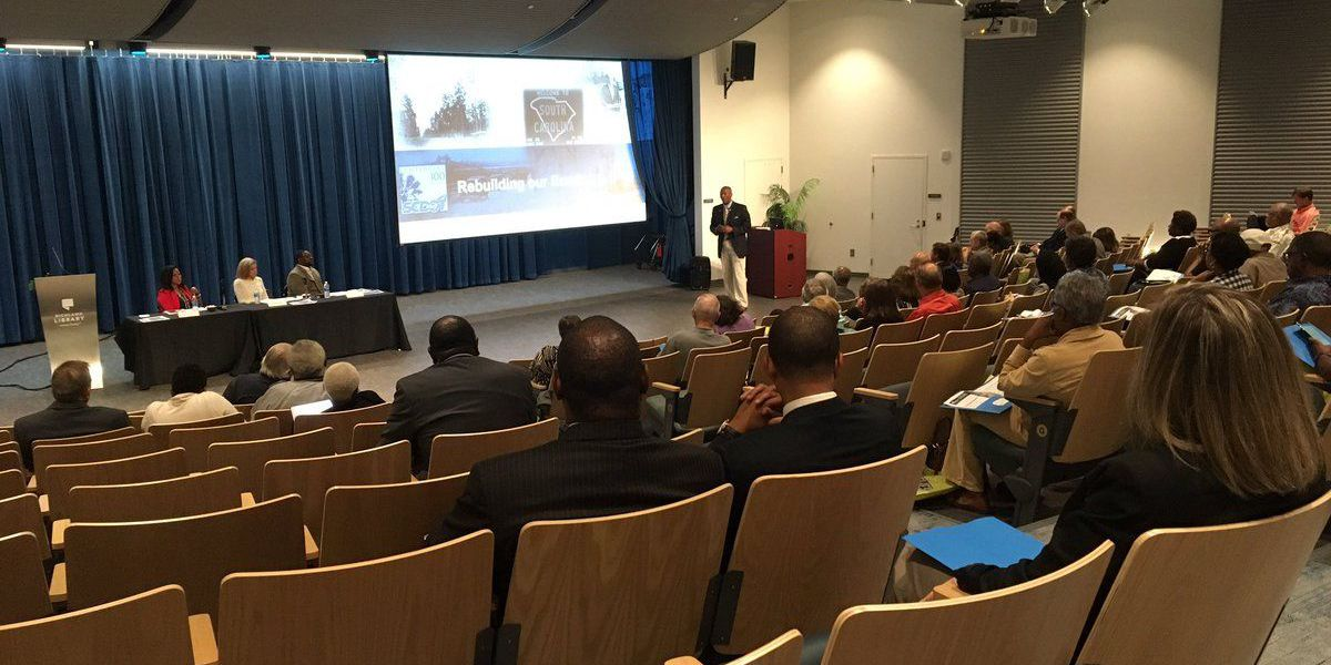 SC State leaders talk broken roads, Real ID at town hall meeting Monday