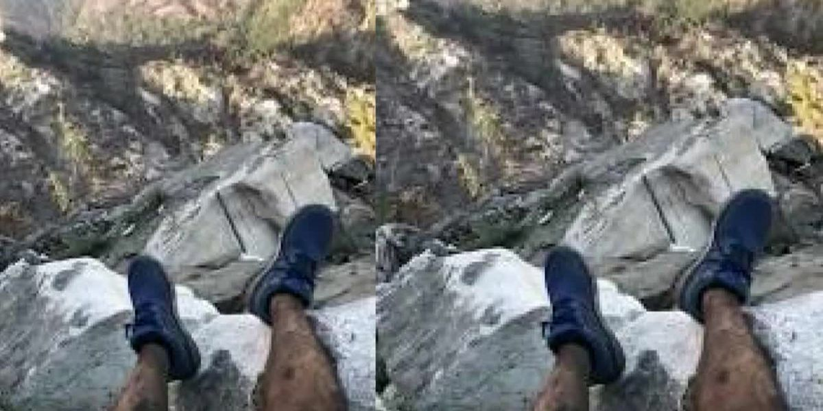 Photo texted to friend helped find hiker lost in Calif. woods