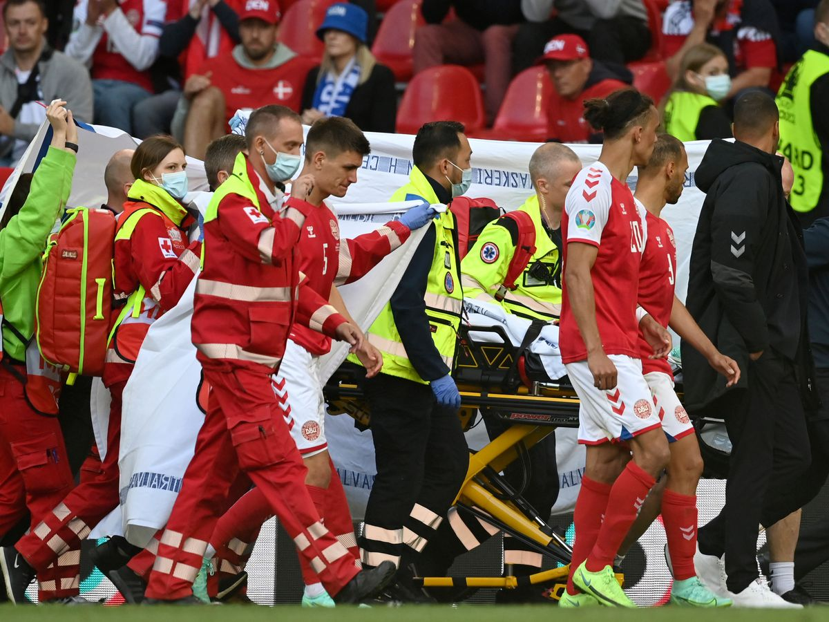 Eriksen in stable condition, Euro 2020 match resumes
