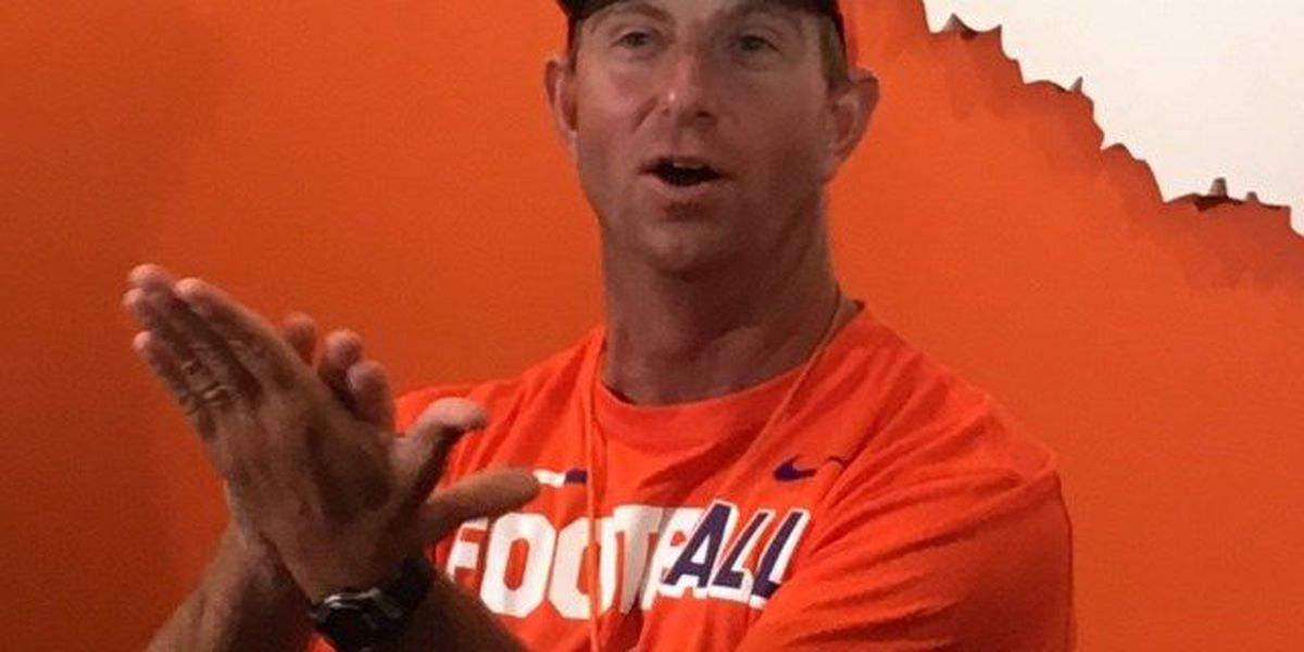 Dream remains the same as Clemson opens fall practice