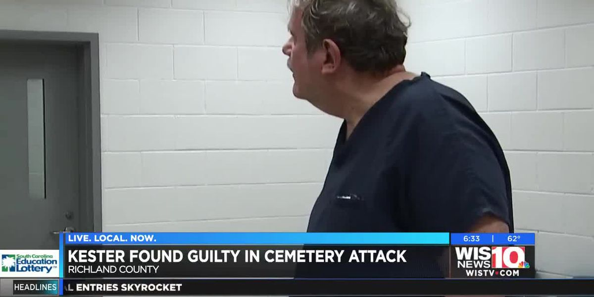 Kester found guilty in cemetery attack