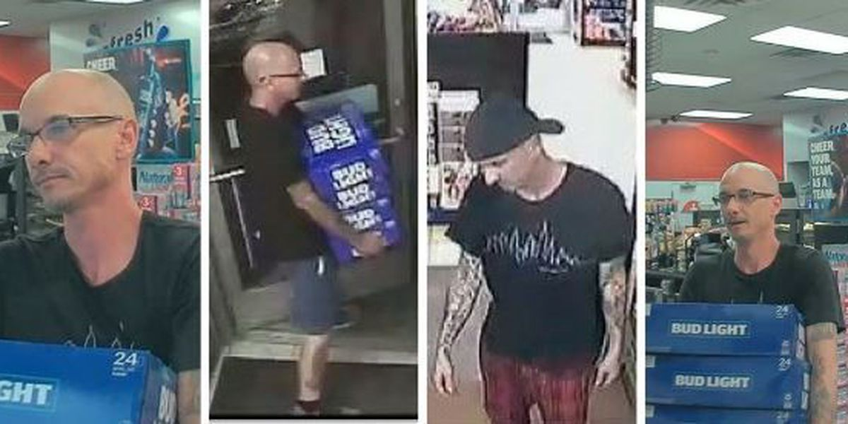 Lexington deputies searching for man in connection to string of convenience store thefts