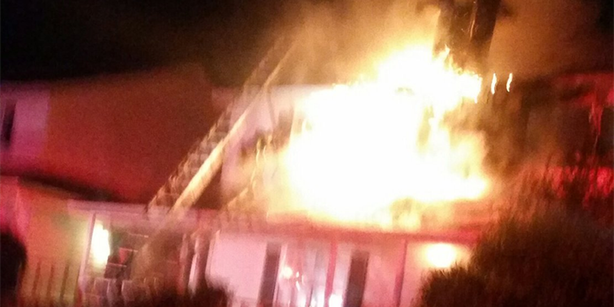 No one injured, but 7 displaced following overnight condo fire