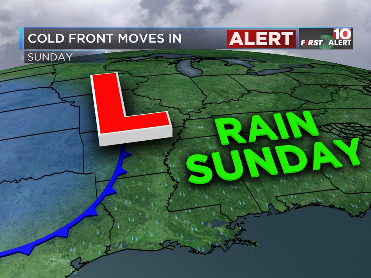 First Alert Forecast: Tracking heavy rain and the potential for black ice ahead