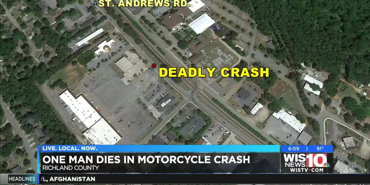 Richland Co. Coroner identifies motorcyclist killed in collision on St. Andrews Road