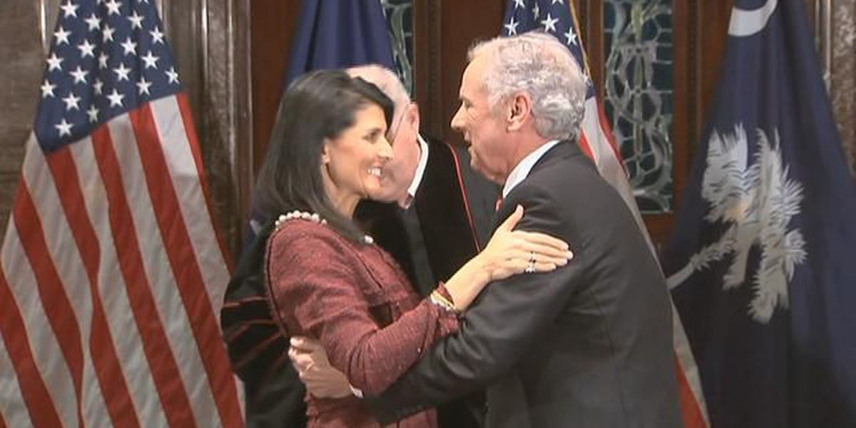 WATCH: Haley resigns, McMaster to become next SC governor