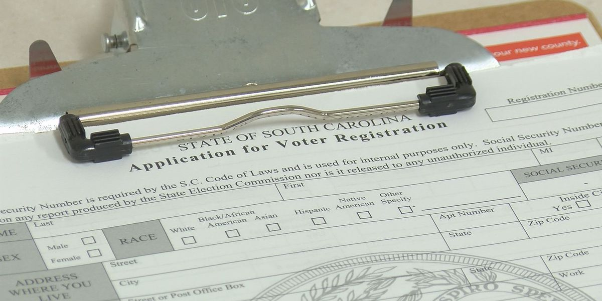 Time running out for SC voters to register ahead of primary election